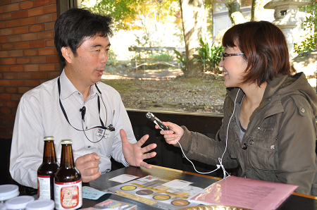 蔵屋鳴沢へのインタビュー